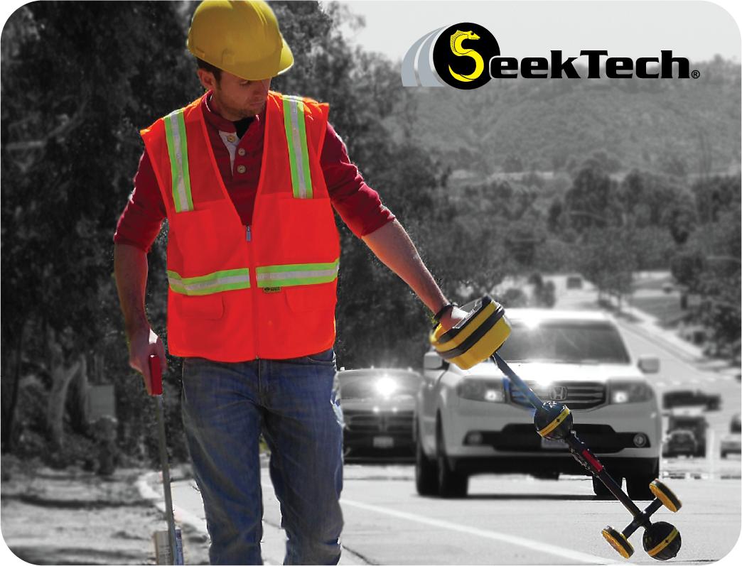 SeekTech in use