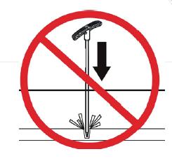 Avoid hitting conductor
